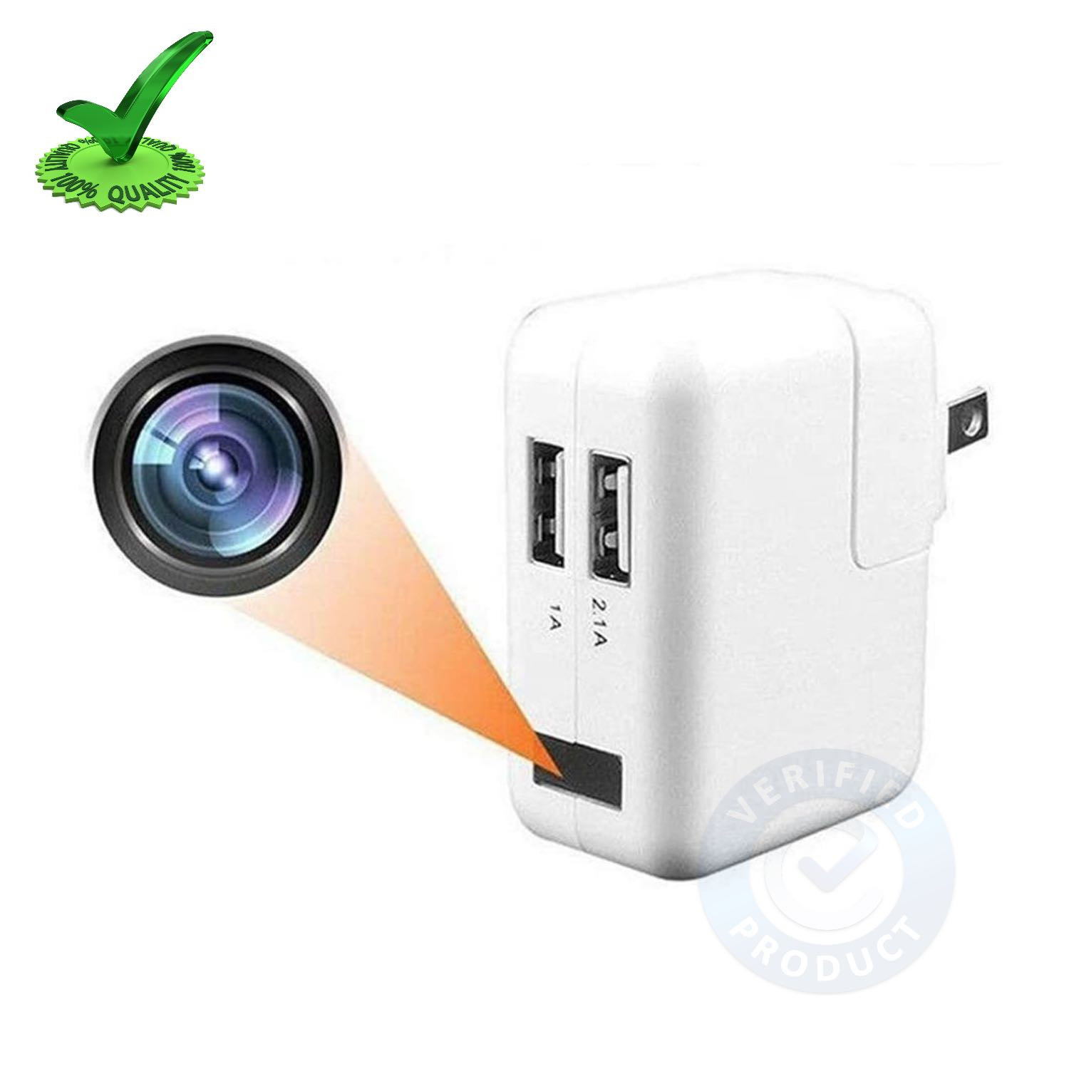 WiFi Spy Hidden Camera with Recorder in Apple Usb Charger