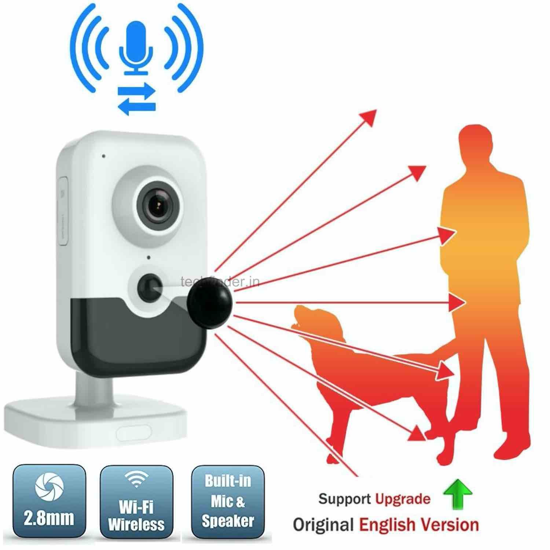 Hikvision DS-2CD2463G0-I(W) 6MP IR Wi-Fi Fixed Cube Spy Ip Camera
