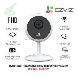Ezviz C1C 720p HD Resolution Indoor Spy Wi-Fi Camera