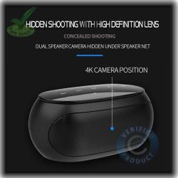 WiFi Spy Hidden Camera with Recorder in Bluetooth Speaker
