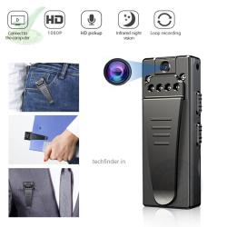 4K FHD High Resolution Wearable Mini Hidden Portable Spy Camera